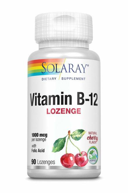 Solaray Vitamin B-12 90ct 1000mcg