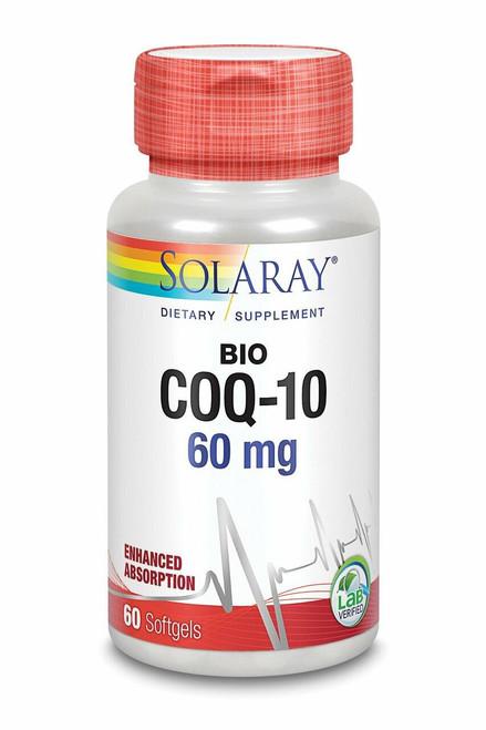 Solaray Bio CoQ-10 60ct 60mg