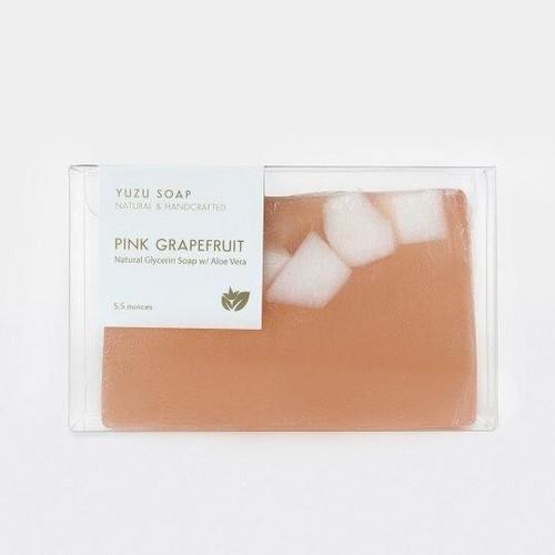 Yuzu Soap Pink Grapefruit - Aloe Vera Soap Bar