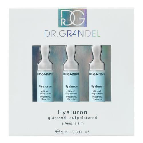 Dr Grandel Hyaluron 3ml x3 amp- intensive care concentrate with wrinkle-filling effect