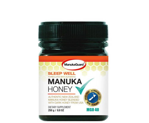 ManukaGuard Manuka Honey Sleep Well MGO 40 8.8oz