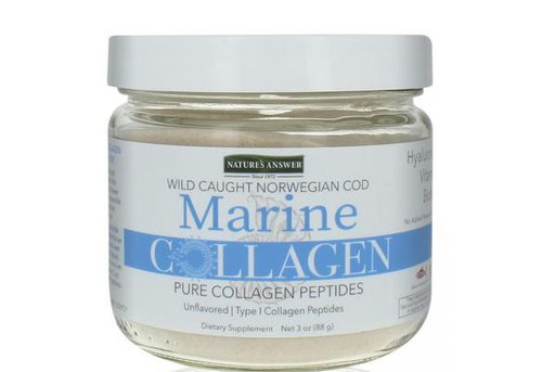 Natures Answer Marine Collagen, Unflavored 4.8oz From Norwegian Cod