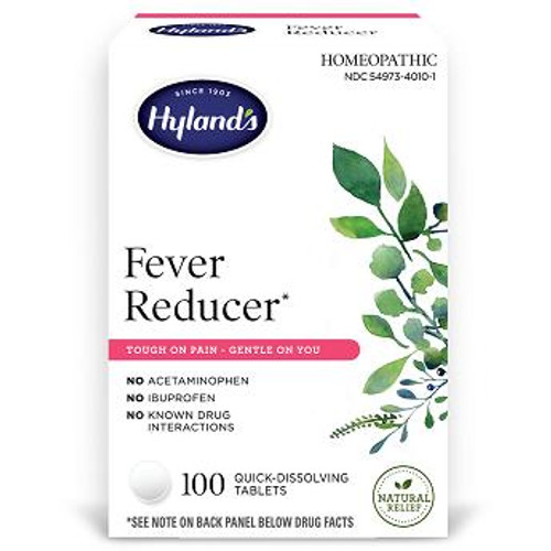 Hylands Fever Reducer quick dis Tbl 100ct