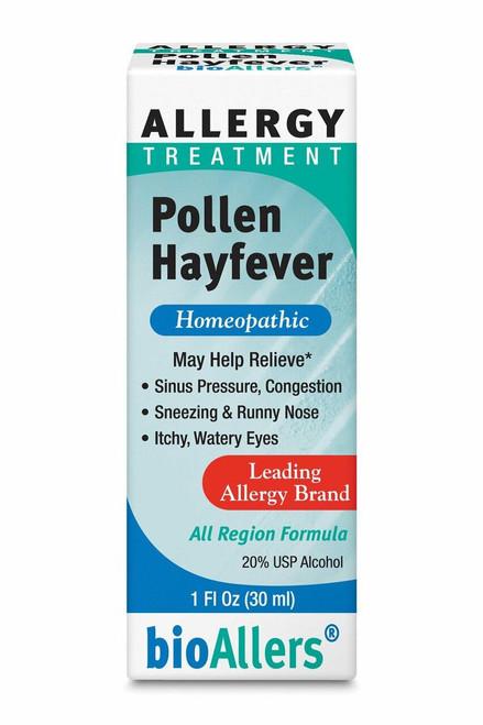 bioAllers Pollen/Hayfever 1floz 30ml