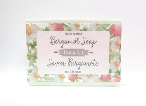 Dot and Lil Bergamot Soap Bar 4.5oz