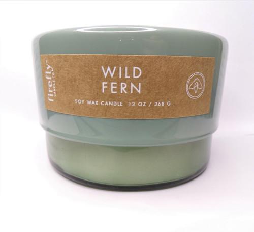Paddywax Wild Fern - Botany 13oz Basil Green Glass