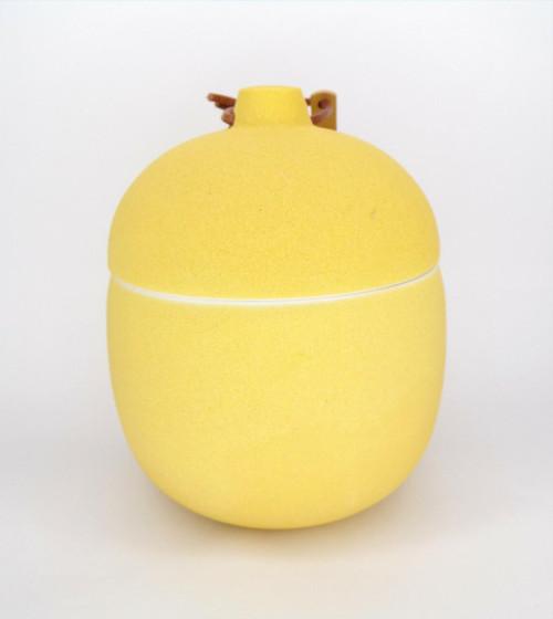 Paddywax Lemon Hibiscus - Keepsake 4oz Ochre Ceramic