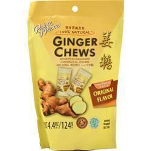 Prince Of Peace Ginger Chews Original 4.4OZ