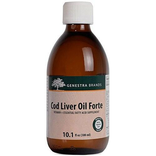 Genestra Brands Cod Liver Oil Forte 300 mL 10.1oz Genestra