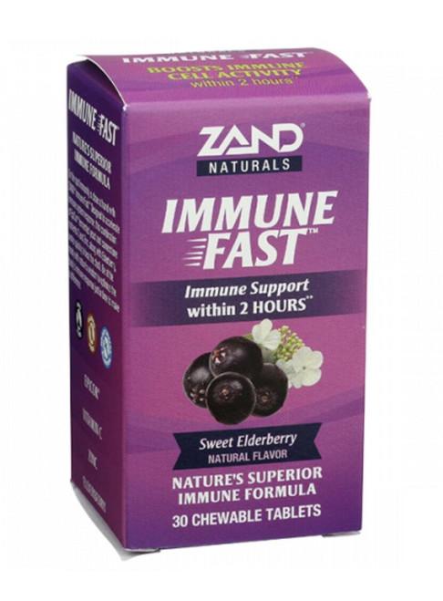 Zand Immune Fast Elderberry 30Tab Chewable