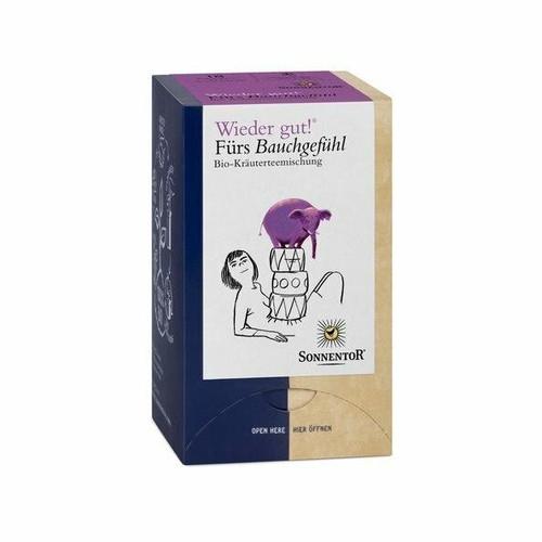 Sonnentor Calming Tummy Bagged Herbal Tea 18 Bags