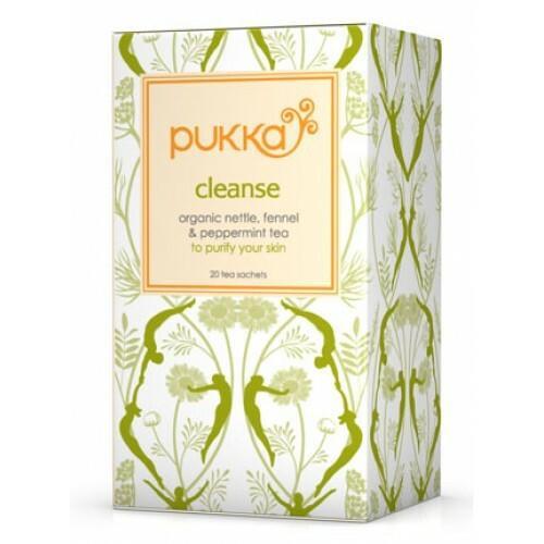 Pukka Herbs Cleanse Org Herbal Tea, Pukka