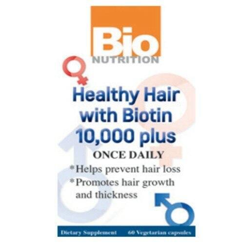 BIO Nutrition Biotin 10,000 mcg 60ct