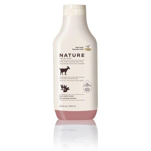 Canus Goat Milk Canus Goat Milk Nature Silky Body Wash Shea Butter 16.9oz