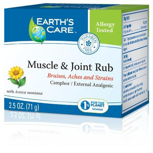 Earths Care Muscle and Joint Rub 2.5oz