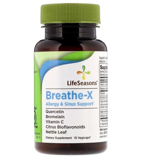 LifeSeasons Breathe-X Trial Size 15ct