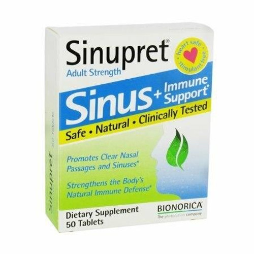 Bionorica Sinupret Adult Strength 50 tab