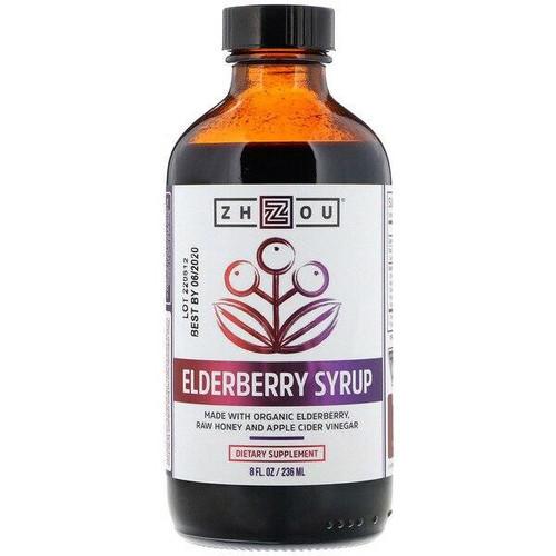 Zhou Nutrition Elderberry Syrup 8oz ZHOU