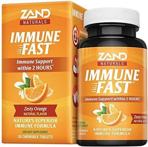 Zand Immune Fast Orange 30Tab Chewable