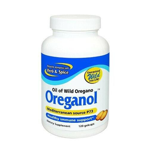 North American Herb and Spice Oreganol 120 Gelcps