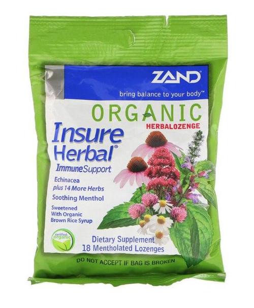 Zand HerbaLozenge Insure 18ct