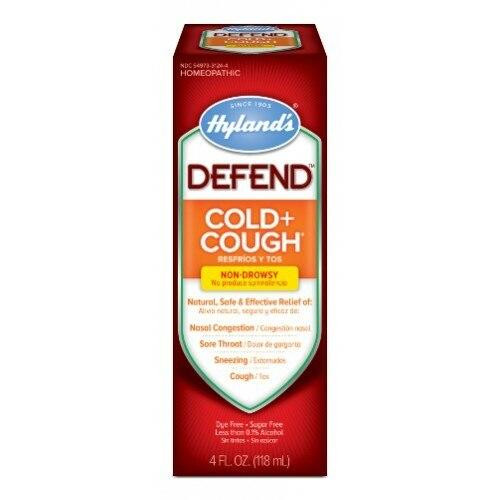 Hylands Standard Homeopathic Defend Cold and Cough 4oz