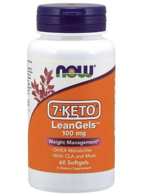NOW 7-Keto 100mg Leangels 60 Sgels
