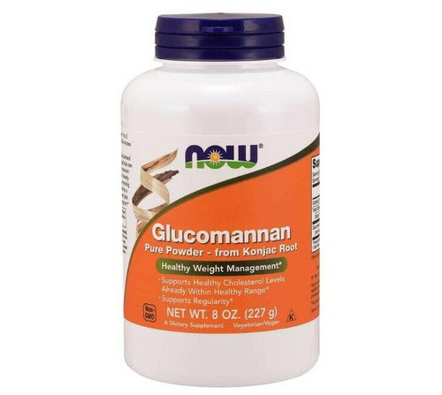 NOW Glucomannan Powder 8 oz