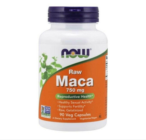 NOW Maca 750 Mg 61 Conc 90 Vcaps, NOW