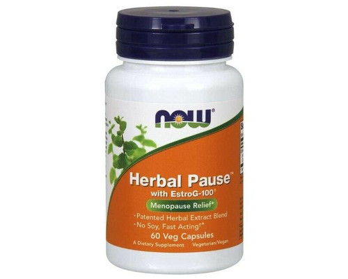 NOW Herbal Pause 60caps, NOW