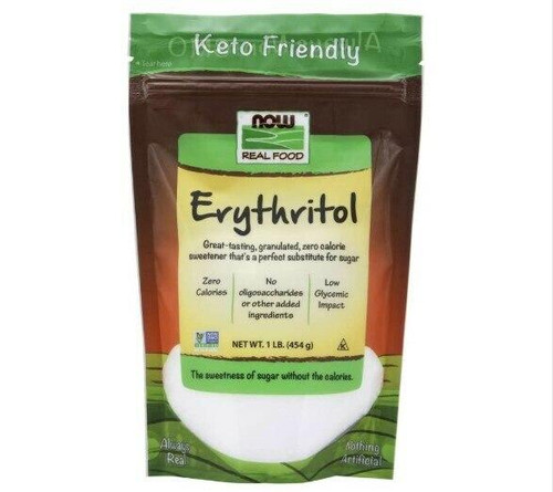 NOW Erythritol 1lb Granulated, NOW