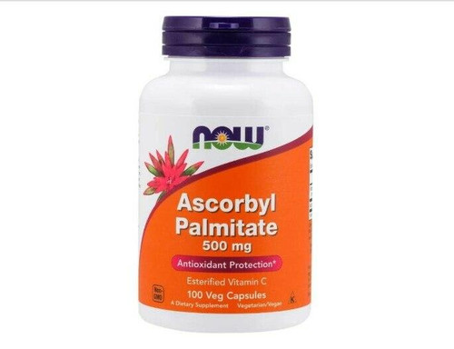 NOW Ascorbyl Palmitate 500mg 100ct, NOW