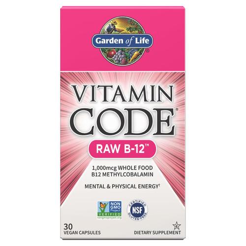 Garden Of Life Vitamin Code Raw B12 30ct Caps