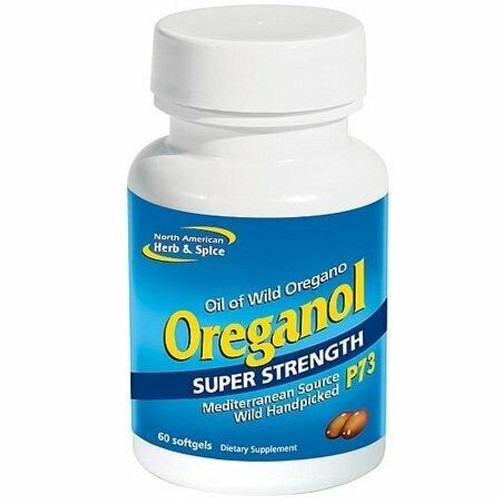 North American Herb and Spice Oreganol P73 Sup Str 60 cps