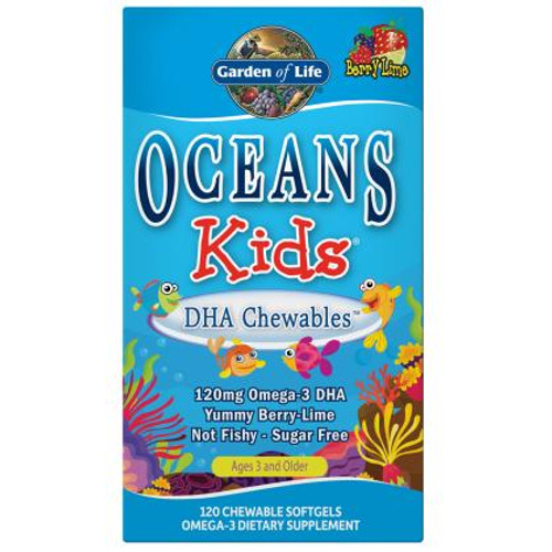 Garden Of Life Oceans Kids DHA Berry Lime 120ct