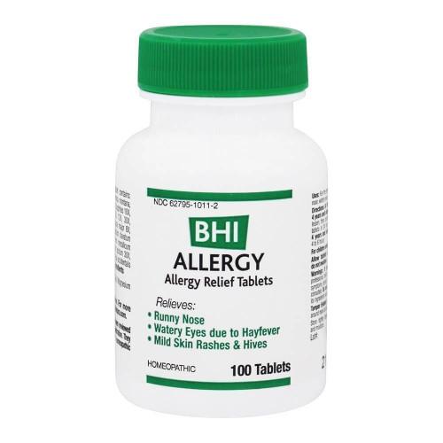 BHI Allergy Tablets 100 tab