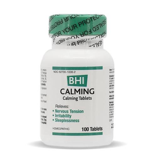 BHI Calming Tablets 100 tab