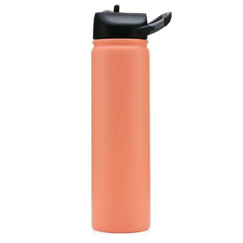 SIC 27 oz Matte Coral Stainless Steel Water Bottle