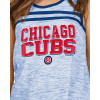 Chicago Cubs Women's Space Dye Racer Back Tank