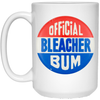 Bleacher Bum Coffee Mug by ThirtyFive55 at SportsWorldChicago