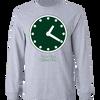 Wrigley Field Clock Long Sleeve T-Shirt
