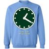 Wrigley Field Clock Crewneck Pullover Sweatshirt by ThirtyFive55 at SportsWorldChicago