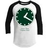 Wrigley Field Clock 3/4-Sleeve T-Shirt by ThirtyFive55 at SportsWorldChicago