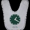 Wrigley Field Clock Baby Bib