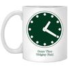 Wrigley Field Clock 11 oz Coffee Mug by ThirtyFive55 at SportsWorldChicago