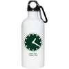 Wrigley Field Clock 20 oz Stainless Steel Water Bottle by ThirtyFive55 at SportsWorldChicago