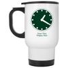 Wrigley Field Clock Travel Mug by ThirtyFive55 at SportsWorldChicago