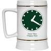 Wrigley Field Clock 22 Oz Beer Stein by ThirtyFive55 at SportsWorldChicago