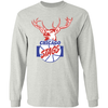 Chicago Stags Long Sleeve Ultra Cotton T-Shirt by ThirtyFive55 at SportsWorldChicago