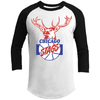 Chicago Stags 3/4 Sleeve Sporty T-Shirt by ThirtyFive55 at SportsWorldChicago